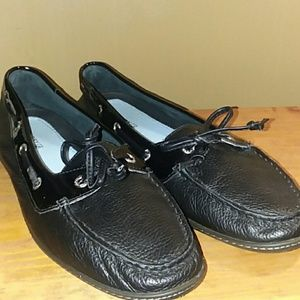 Patent Leather detail Sperry Top-Sider Size 10M